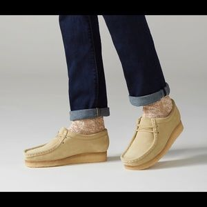 Clark's Wallabee Original Crepe Sole Low Suede